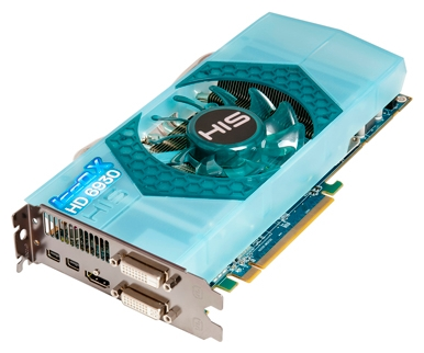 Фото: Видеокарта HIS Radeon HD6930 IceQ X, 1Gb DDR5 (H693QN1G2M)