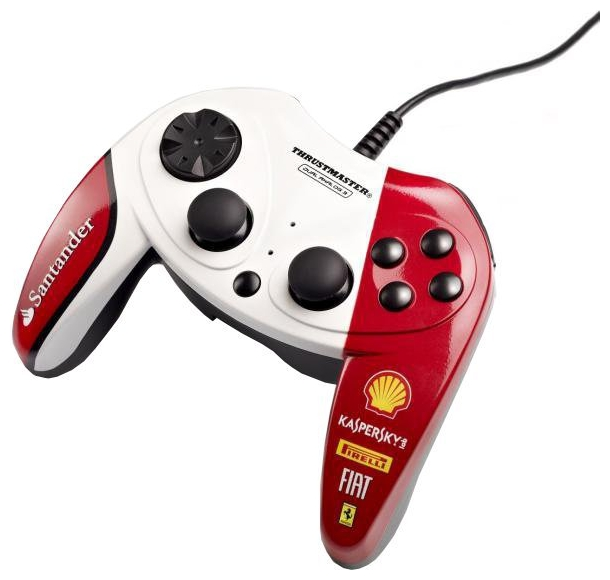 Фото: Геймпад Thrustmaster Ferrari F1 Dual Analog F150 italia exclusive edition (2960733)