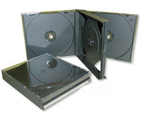Фото: BOX DVD/CD на 4 диска, 14 mm, Black