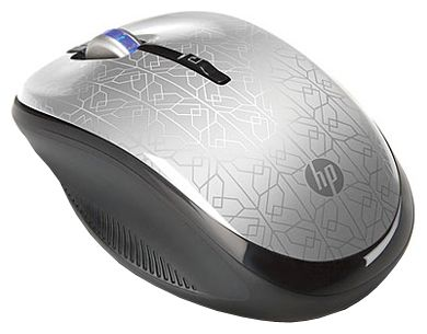 Фото: Мышь HP 2.4GHz Wireless Optical SILVER WE790AA