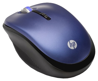Фото: Мышь HP 2.4GHz Wireless Optical PACIFIC BLUE LX731AA