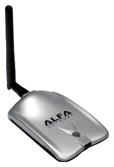 Фото: Сетевой адаптер USB ALFA AWUS036H LUXURY (Detachable Antenna)