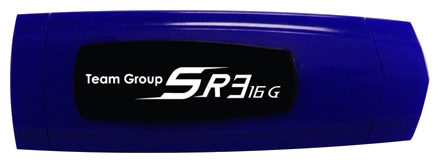 Фото: USB Flash Drive 16 Gb Team SR3 Blue