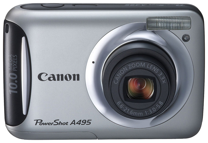 Фото: Цифровая камера Canon A495  (SD-card) silver