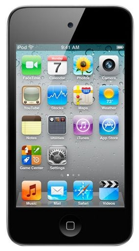 Фото: MP3-плеер  Apple iPod Touch 8Gb (4Gen) Black