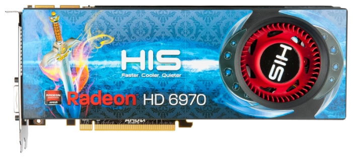 Фото: Видеокарта HIS Radeon HD6970, 2Gb DDR5 (H697F2G2M)
