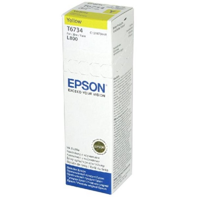 Фото: Чернила Epson L800, Yellow, 70 ml, OEM (C13T67344A)