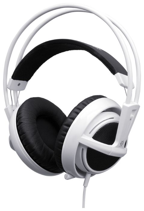 Фото: Гарнитура STEELSERIES Siberia V2, White (51100)