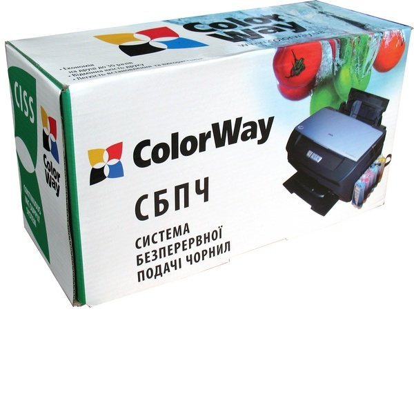 Фото: СНПЧ ColorWay Canon MP230/235/240/250/260/270/280/490, iP2700, MX320/330/340/350/360/410/420, 4x100 г чернил (MP240CN-4.1NC)