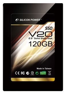 Фото: Винчестер SSD 120Gb Silicon Power  Velox series SP120GBSSDV20S25