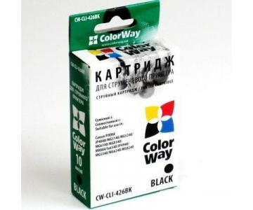 Фото: Картридж Canon CLI-426, Black, ColorWay (41622)