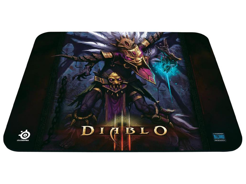 Фото: Коврик STEELSERIES QcK Diablo3 Witch Doctor (67223)