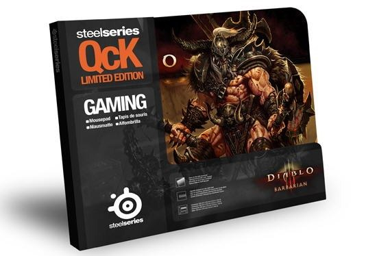 Фото: Коврик STEELSERIES QcK Diablo3 Barbarian edition (67222)