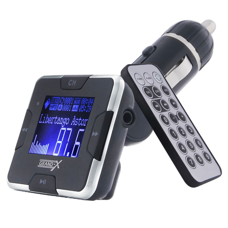 Фото: Автомобильный FM Transmitter Car MP3 USB+ (CUFM22GRX silver)