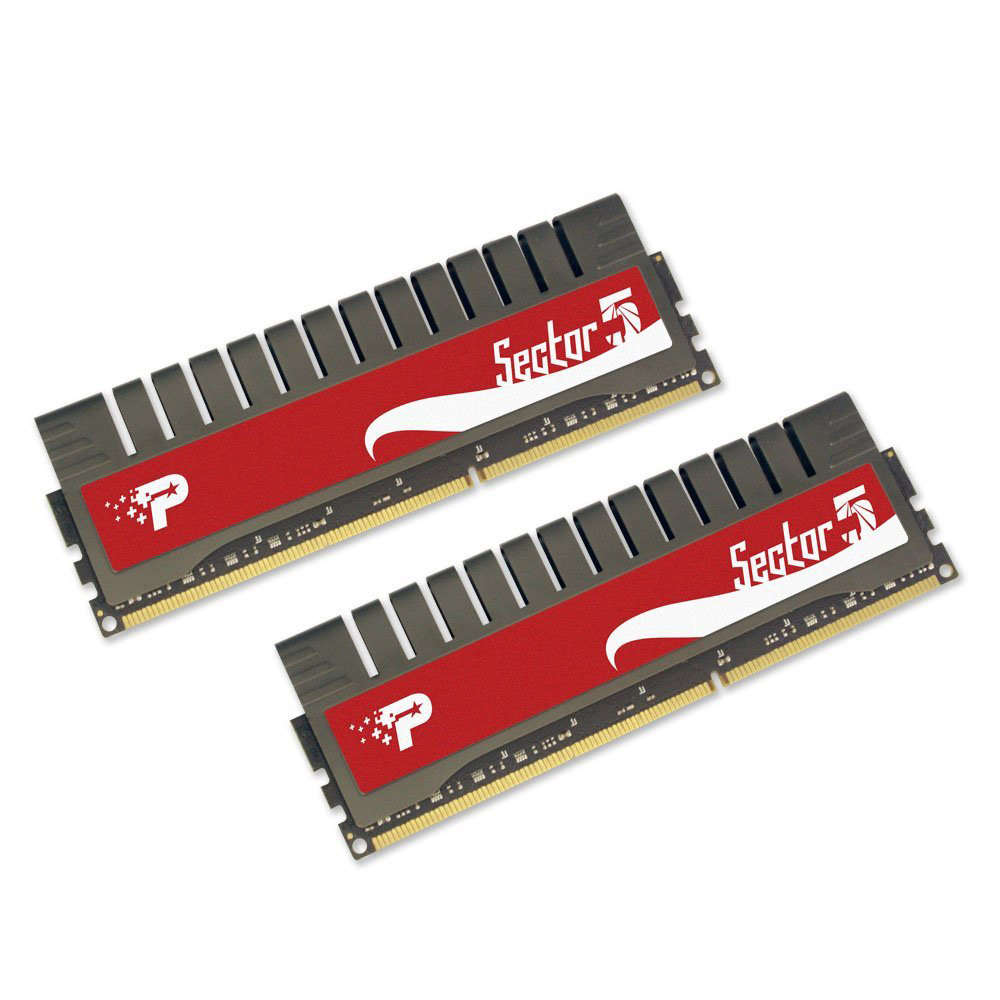Фото: Модуль памяти DDR3 4Gb (2 x 2Gb) PC3-16000 Patriot Gamer Sector (PGV34G2000ELK)