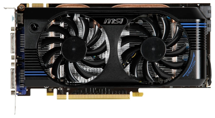 Фото: Видеокарта MSI GeForce GTX560 Ti (N560GTX-Ti-M2D1GD5/OC)