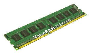 Фото: Модуль памяти DDR3 2Gb PC3-10600 (1333MHz) Kingston original / CL9 / KVR1333D3N9/2G