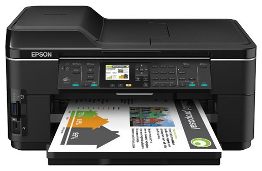Фото: МФУ A3 струйное Epson WorkForce WF-7515