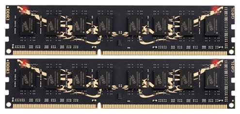 Фото: Модуль памяти DDR3 8Gb (2 x 4Gb) PC3-15000GEIL Black Dragon (GB38GB1866C10DC)
