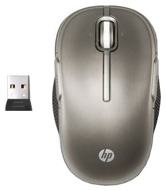 Фото: Мышь HP Wireless Laser Mobile Mouse, Gray (LX729AA)