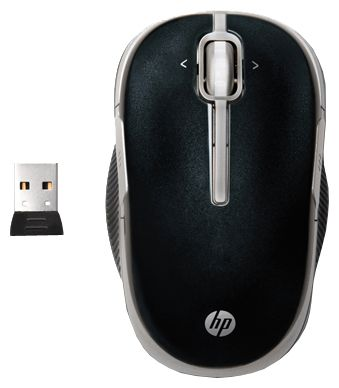 Фото: Мышь HP 2.4 GHz Wireless Optical Mobile Mouse, Speedy (VK482AA)