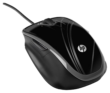 Фото: Мышь HP 5-Button Optical Comfort Mouse (Pluto), USB (BR376AA)