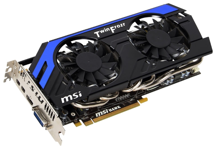 Фото: Видеокарта MSI Radeon HD7870 (R7870 Hawk)