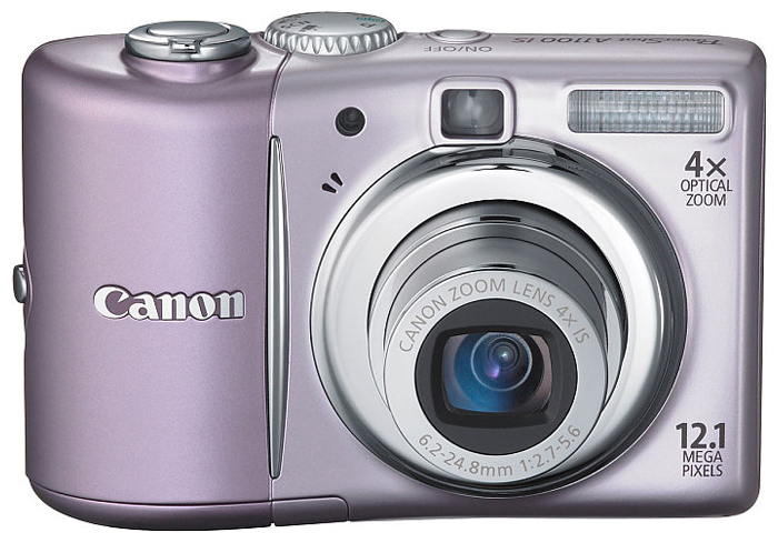 Фото: Цифровая камера Canon PowerShot A1100 IS pink