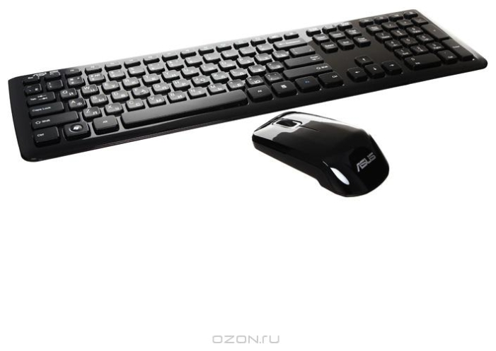 Фото: Комплект Asus W3000 Wireless Black 90-XB2400KM00060-