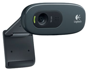 Фото: WEB camera Logitech WEBCAM HD C270 Ink Gears (960-000915)