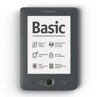 "Фото: Электронная книга 6"" PocketBOOK Basic 613"