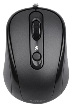 Фото: Мышь A4Tech D-250-1 HOLELESS black, USB
