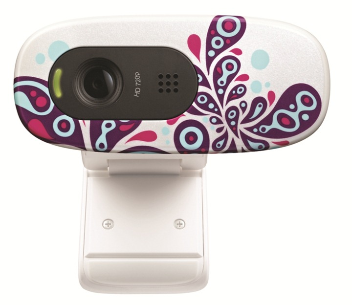 Фото: WEB camera Logitech WEBCAM HD C270 PAISLEY (960-000918)