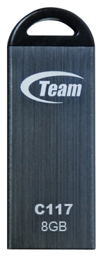 Фото: USB Flash Drive 8 Gb Team C117 Grey