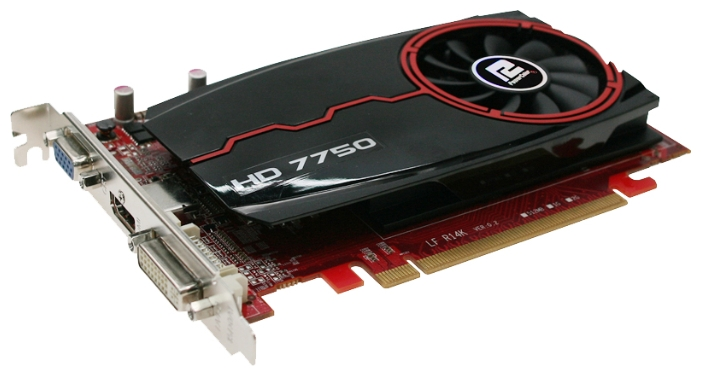 Фото: Видеокарта PowerColor Radeon HD7750 (AX7750 1GBK3-H)