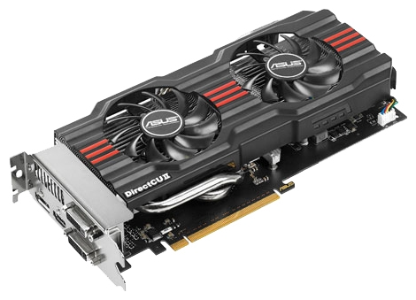 Фото: Видеокарта Asus GeForce GTX660 (GTX660-DC2O-2GD5)