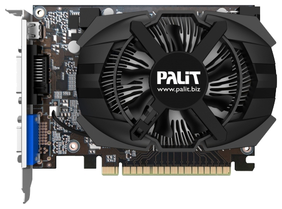 Фото: Видеокарта Palit GeForce GTX650 2Gb DDR5 (NE5X65001341-1072F)