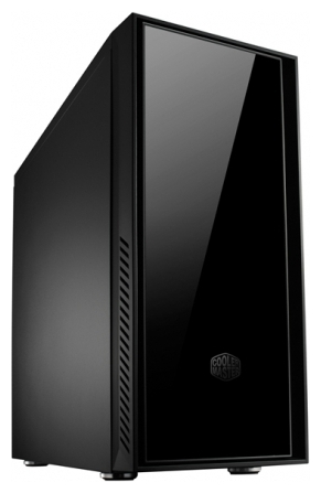 "Фото: Корпус Cooler Master Sileo 550 Black / RC-550-KKA550 / 550W / ATX, mATX Midi-Tower / 1xUSB3.0, 1xUSB2.0, Audio / 3x5,25"", 1x3,5"", 7xHDD, 7xPCI / Fan 2x120mm / видеокарта до 281mm"