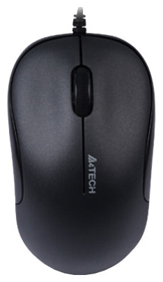 Фото: Мышь A4Tech D-330-1 HOLELESS Black, USB