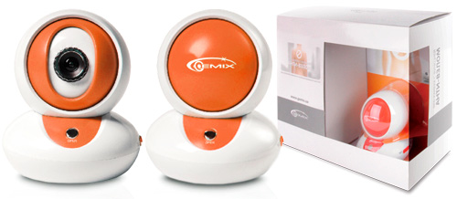 Фото: WEB-камера Gemix D10 white/orange