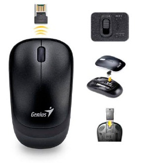 Фото: Мышь Genius Wireless Traveler 6000V