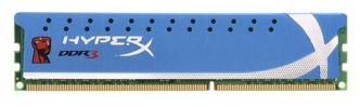 Фото: Модуль памяти DDR3 4Gb PC3-14900 Kingston HyperX (KHX1866C9D3/4G)