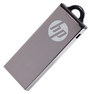 Фото: USB Flash Drive 8 Gb HP V220W Metal Silver (USB 2.0, 25 Мб/с / 8 Мб/с)