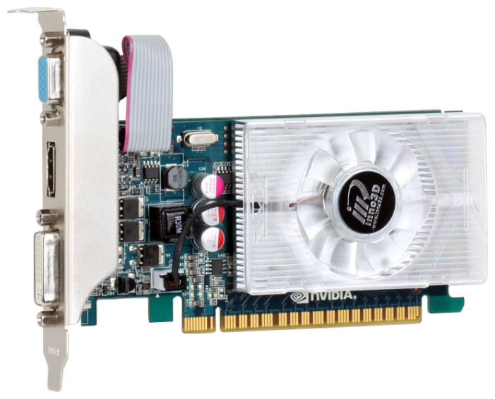 Фото: Видеокарта Inno3D GeForce GT430, 1Gb DDR3, (N430-2DDV-D3CX)