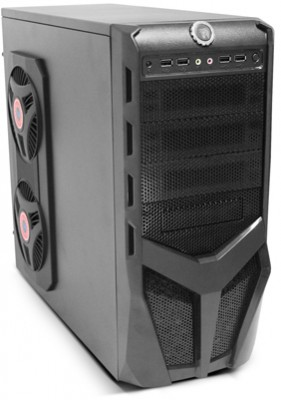 Фото: Корпус Logicpower 8705 Black / 550W