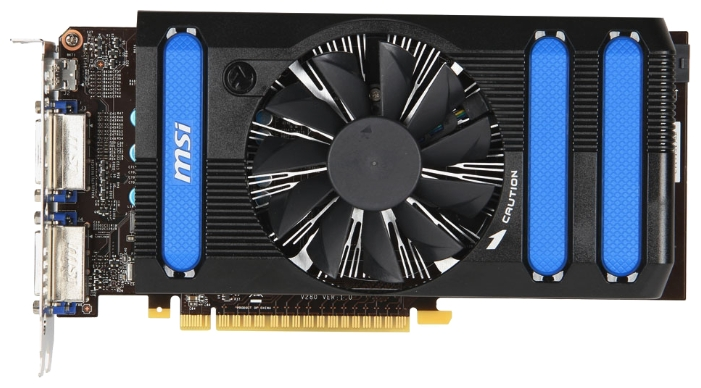 Фото: Видеокарта MSI GeForce GTX650 OC (N650-1GD5/OCV1)