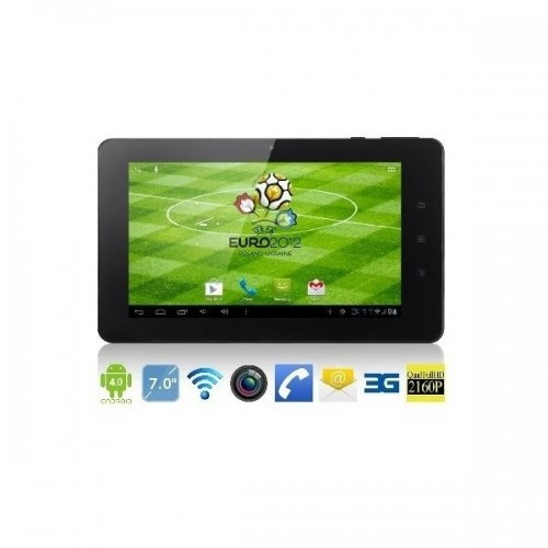 "Фото: Планшетный ПК 7"" Aoson M71GS Black-White / 3G / 8Gb / G-сенсор / емкостный Multi-Touch  (1024x600) IPS / Allwinner A10 1,2GHz / RAM 1Gb / ROM 8Gb / no GPS / 3G модем / Wi-Fi / BT / Cam 1,3Mp / Android 4.0.4"