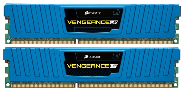 Фото: Модуль памяти DDR3 8Gb (2 x 4Gb) PC3-15000 (1866MHz) Corsair Vengeance Low Blue (CML8GX3M2A1866C9B)