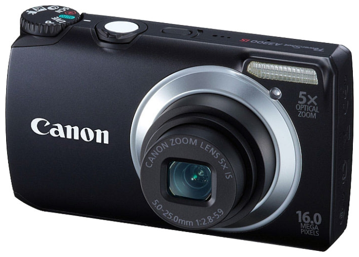 Фото: Цифровая камера Canon PowerShot A3300 IS Silver 12 мес