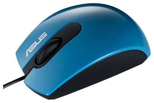 Фото: Мышь Asus UT210, Royal Blue, Optical, USB (90-XB1C00MU00600)